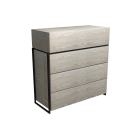Four Drawer Chest by Gillmore Space