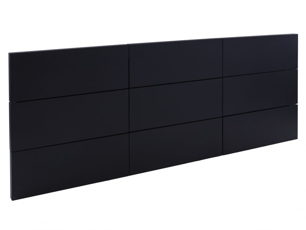 Extra large panelled headboard