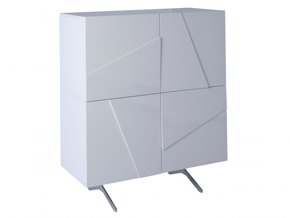 Four door square sideboard