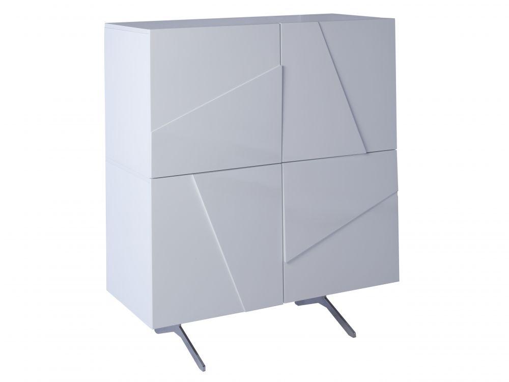 Four door square sideboard