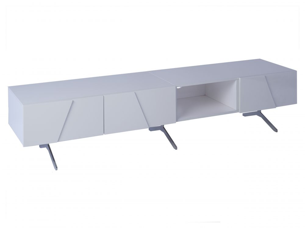 Low large sideboard part open front