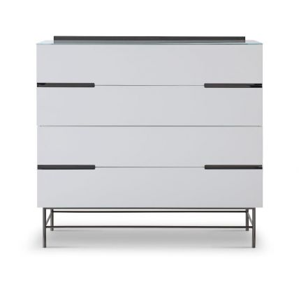 Four Drawer Wide Chest