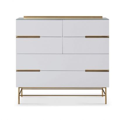 Six Drawer Wide Chest