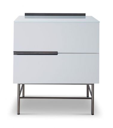 Two Drawer Narrow Chest