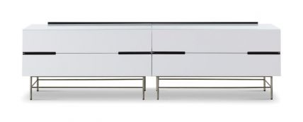 Four Drawer Low Sideboard