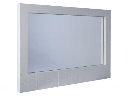 Wall hanging mirror - Barcelona White