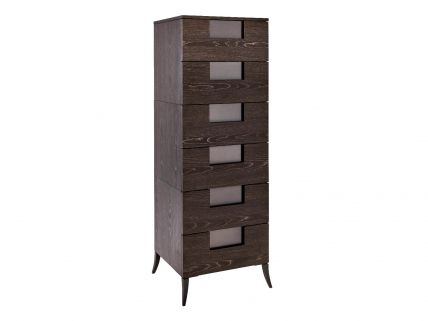 Narrow Six Drawer Chest