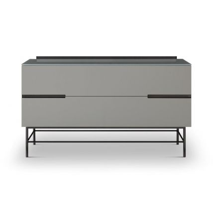 Two Drawer Low Sideboard  by Gillmore