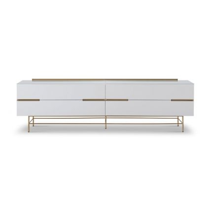 Four Drawer Low Sideboard  by Gillmore
