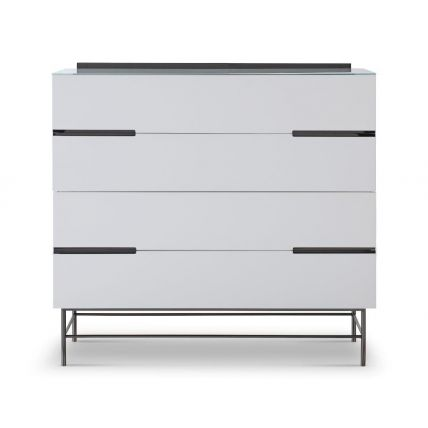 Four Drawer Wide Chest by Gillmore