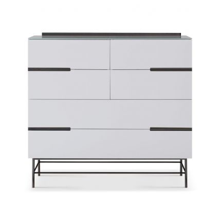 Six Drawer Wide Chest by Gillmore