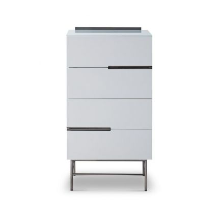 Four Drawer Narrow Chest by Gillmore