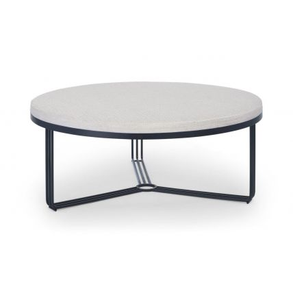 Large Circular Coffee Table or Footstool  by Gillmore