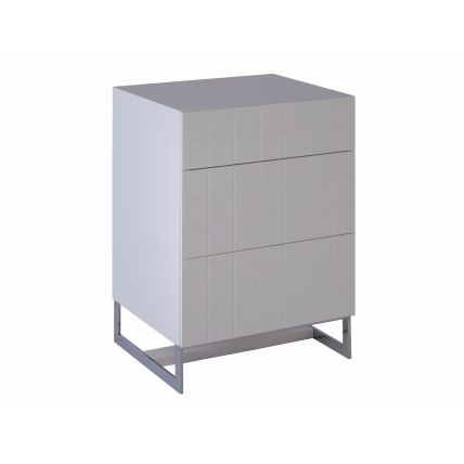 Barcelona White Chest of Drawers by Gillmore Space