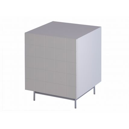 Bedside cabinet - LEFT SIDE HINGED by Gillmore Space