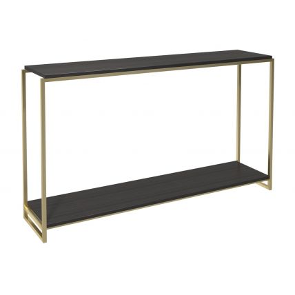 Narrow console table by Gillmore