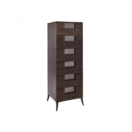 Narrow Six Drawer Chest  by Gillmore