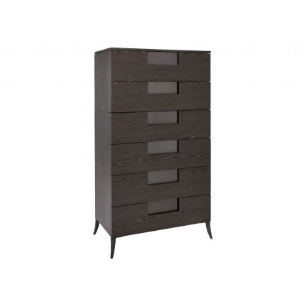 Wide Six Drawer Chest  by Gillmore