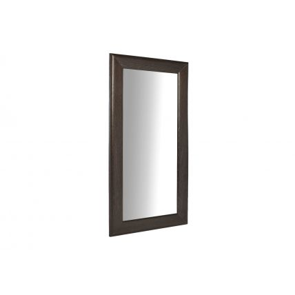 Wall leaning full height portrait mirror by Gillmore Space