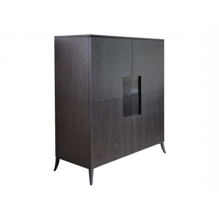 Square Drinks Cabinet by Gillmore Space