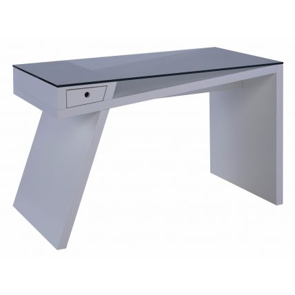 Writing desk - Gerrit white by Gillmore Space