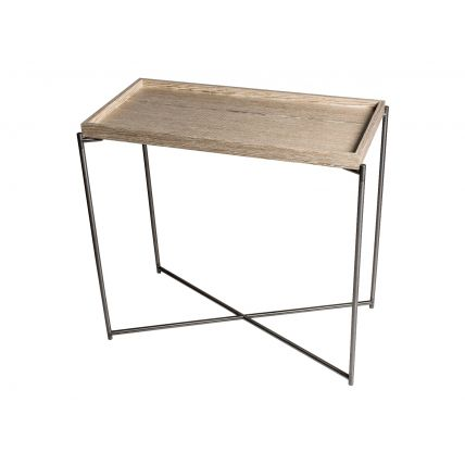 Small Tray Top Console Table  by Gillmore