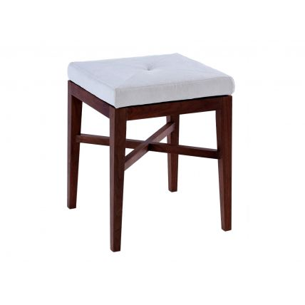 Upholstered Stool by Gillmore Space