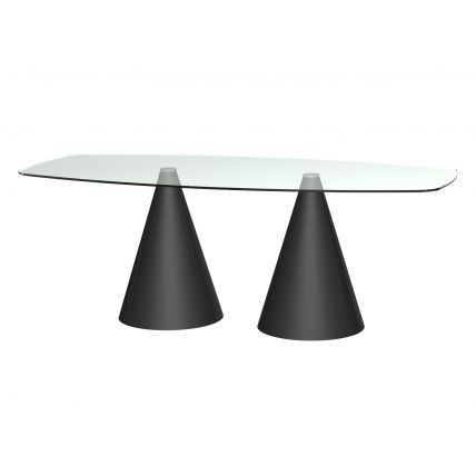 Long Rectangular Dining Table  by Gillmore