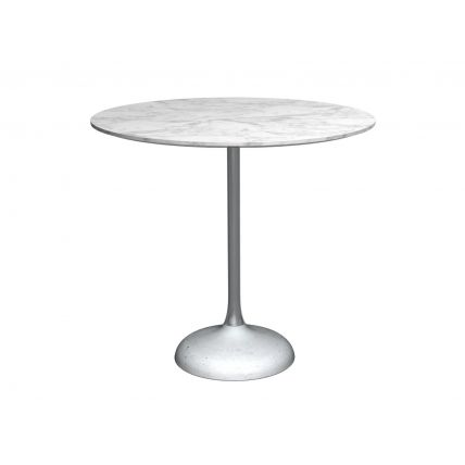 Circular dining table by Gillmore Space