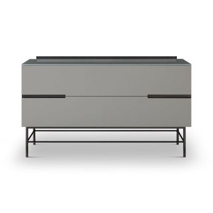 Two Drawer Low Sideboard