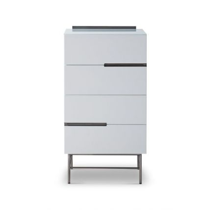 Four Drawer Narrow Chest
