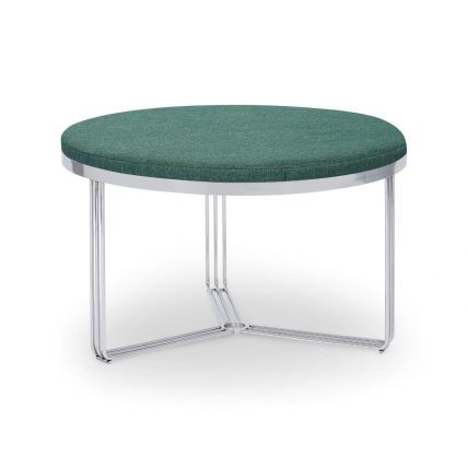 Small Circular Coffee Table or Footstool