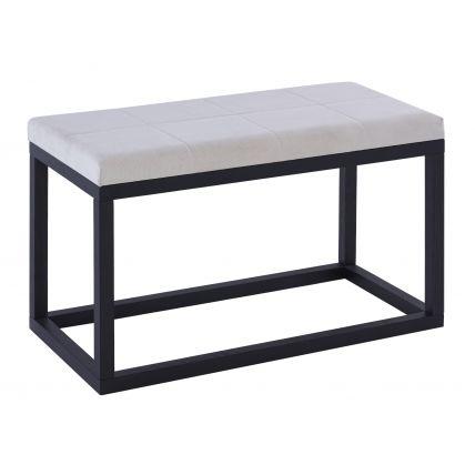 Large stool OFF WHITE - Cordoba