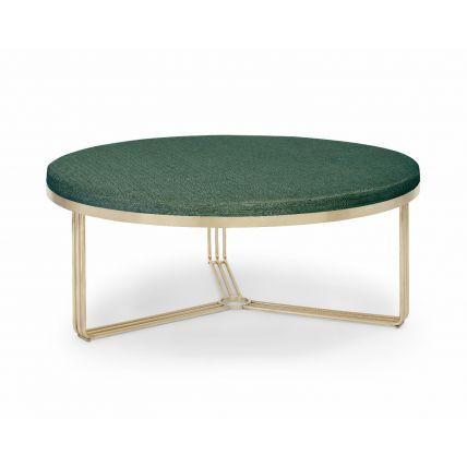 Large Circular Coffee Table or Footstool