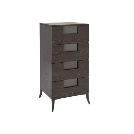 Narrow Four Drawer Chest