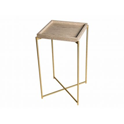 Square Tray Top Plant Stand