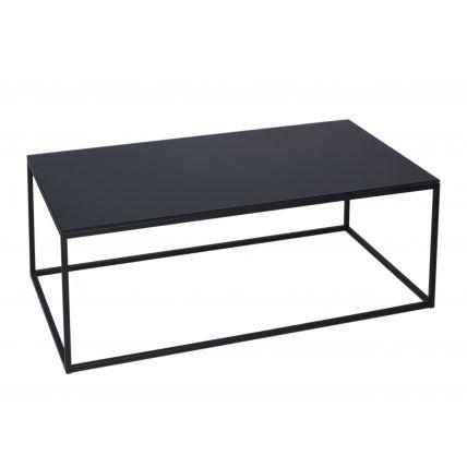 Rectangular Coffee Table - Kensal BLACK with BLACK base