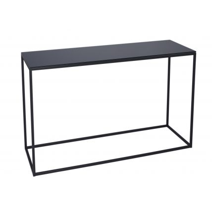 Console Table - Kensal BLACK with BLACK base