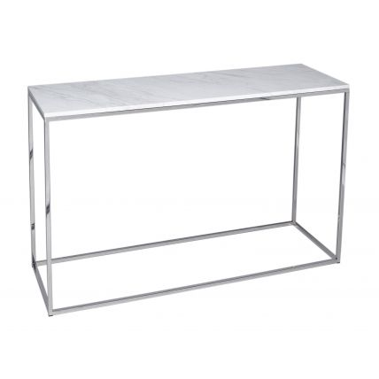 Console Table - Kensal MARBLE with POLISHED base