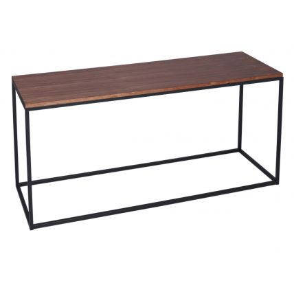 TV Stand - Kensal WALNUT with BLACK base