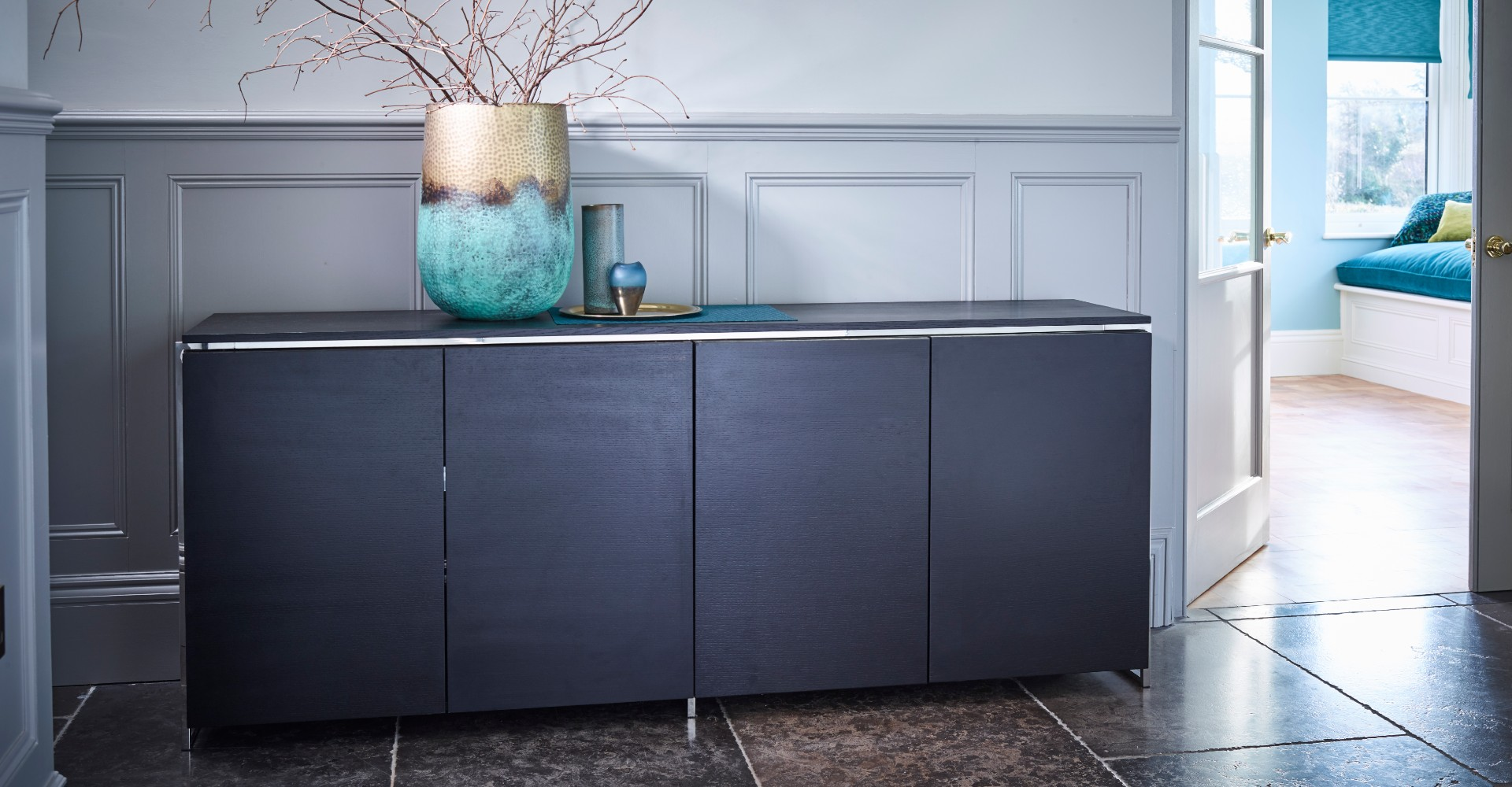 Federico Four Door Sideboard by Gillmore © GillmoreSPACE Ltd