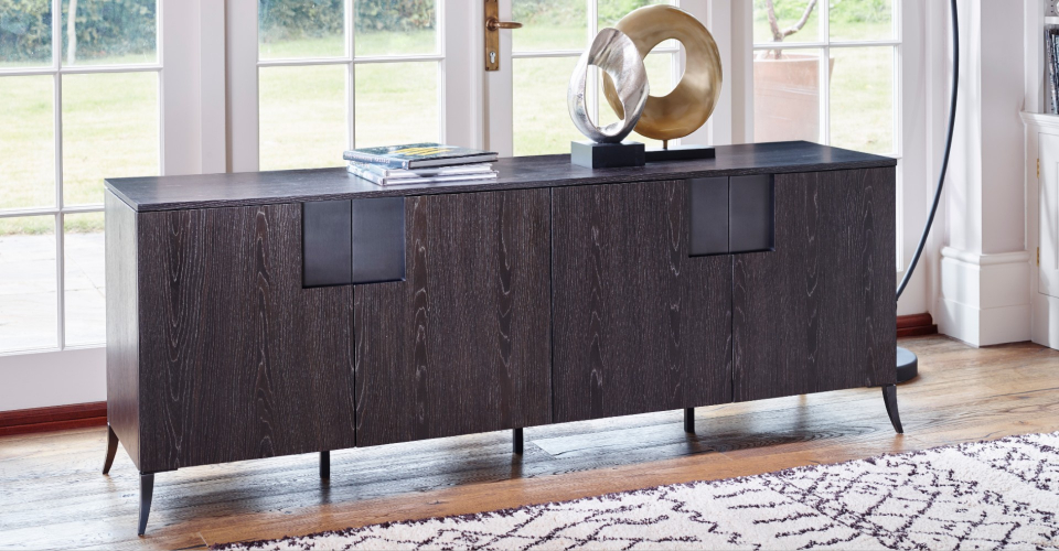 Fitzroy TV Sideboard Double Length by Gillmore © GillmoreSPACE Ltd