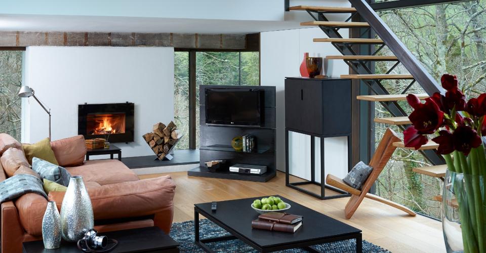 Cordoba High Sideboard & Coffee Tables © GillmoreSPACE Ltd