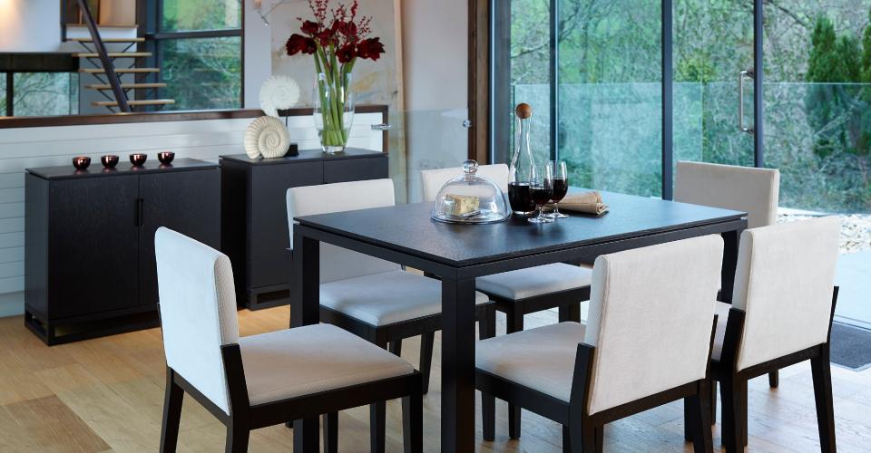 Cordoba Rectangular Dining Table & Chairs © GillmoreSPACE Ltd