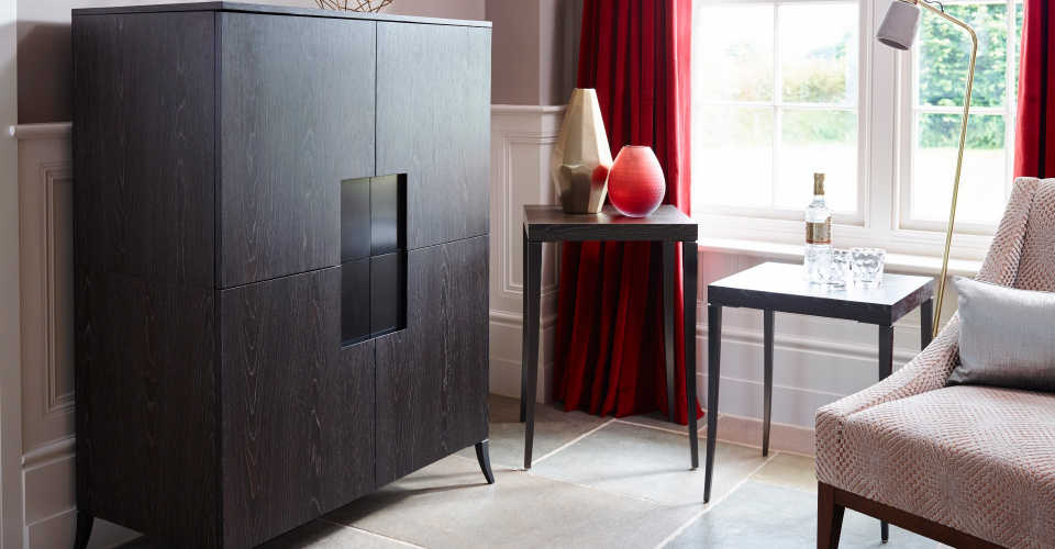 Fitzroy Square Drinks Cabinet by Gillmore © GillmoreSPACE Ltd