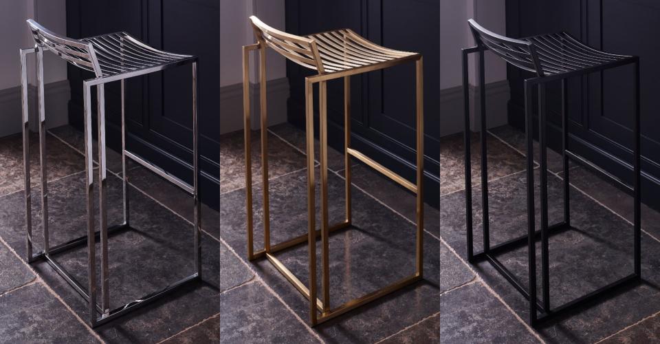 Federico Bar Stool Set by Gillmore © GillmoreSPACE Ltd