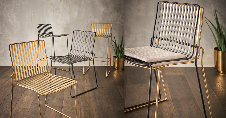 Finn Dining Chairs And Bar Stools by Gillmore © GillmoreSPACE Ltd