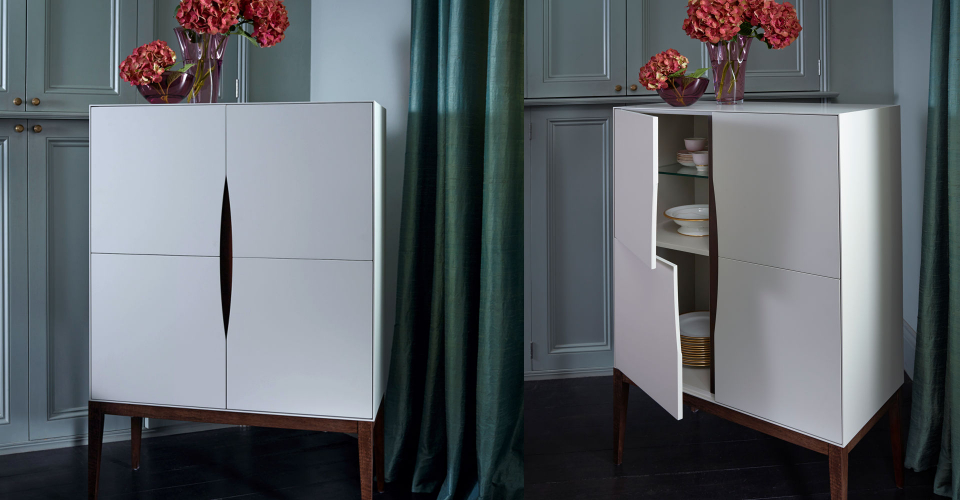 Lux Four Door Square Sideboard by Gillmore © GillmoreSPACE Ltd