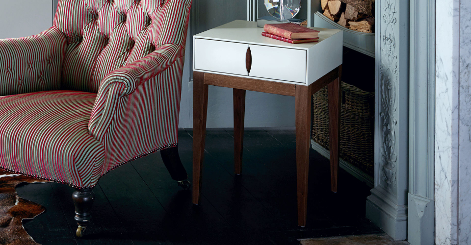 Lux Side Table With Single Drawer by Gillmore © GillmoreSPACE Ltd