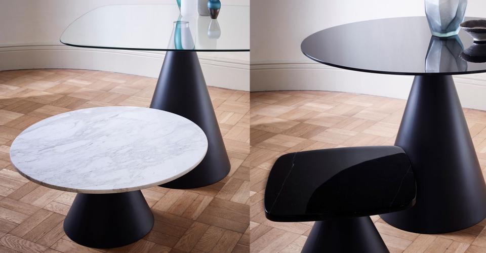 Oscar Dining Tables & Side Tables © GillmoreSPACE Ltd